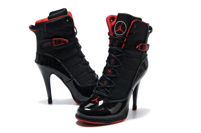 Awesome Black And Red High Heels
