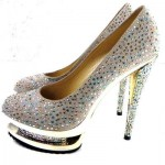 Beads Cheap High Heels Uk
