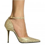 Nice Gold Wedding Shoes
