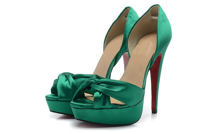 Cool Green Ladies Shoes