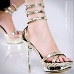 Elegant High Heel Sandals
