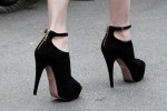 Comfortable High Heels Black