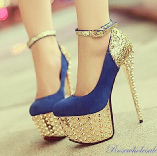 Amazing High Heels Gold