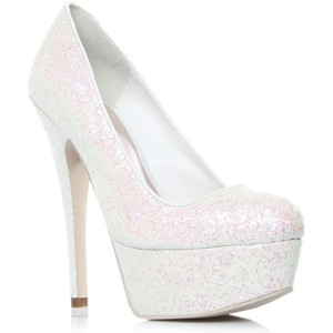 Elegant High Heels White
