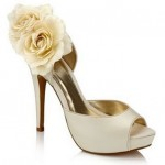 Delicate Ivory Wedding Shoes