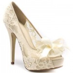 Ideal Lace Wedding Shoes