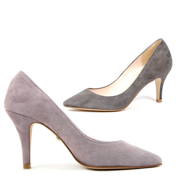 Amazing Ladies Grey Shoes