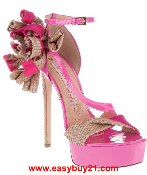 Pink Ladies Shoes High Heels