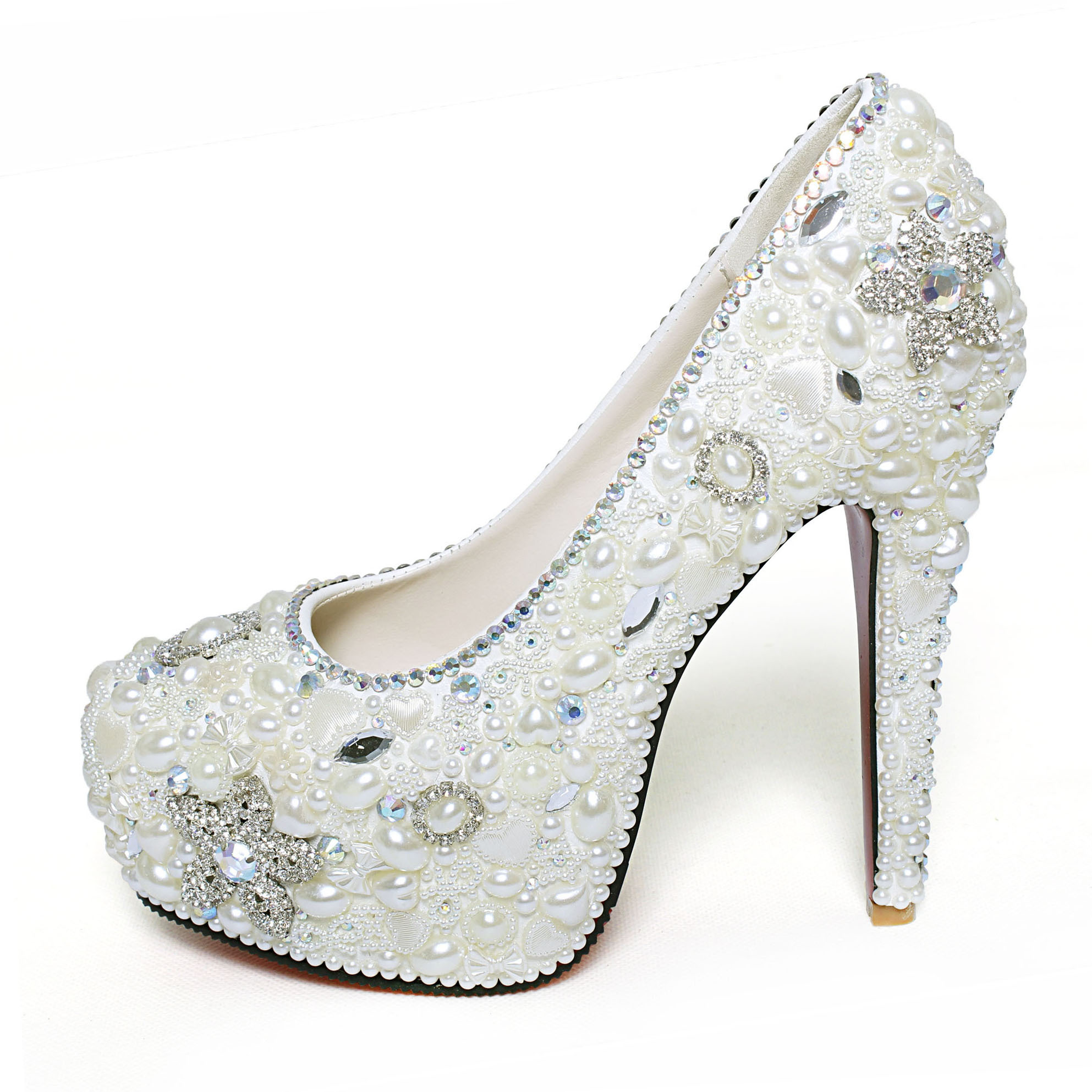 Shiny Ladies Wedding Shoes