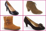 Various Large Ladies Shoes