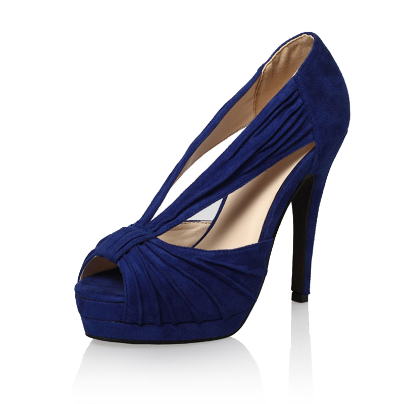 Awesome Navy High Heels