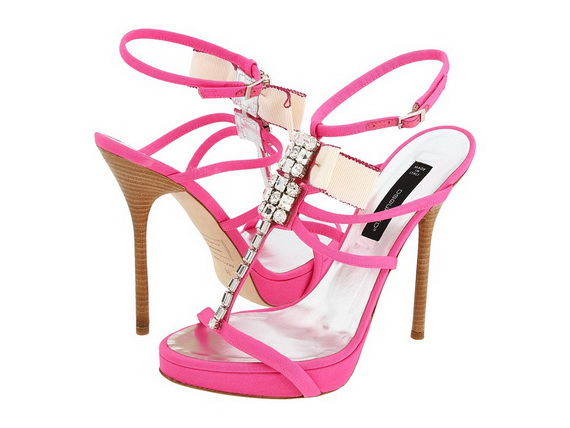 Great Pink High Heel Shoes