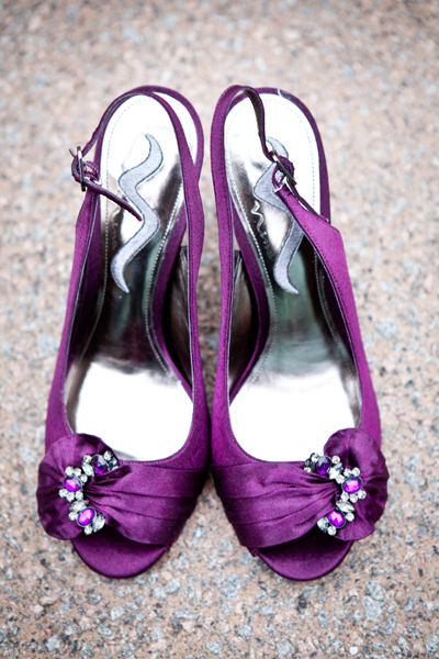 Nice Purple Wedding Shoes