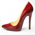 Delicate Red High Heel Sandals For Women
