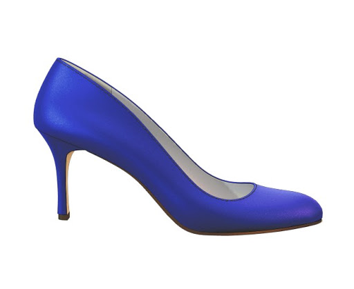 Graceful Royal Blue Heels