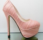 Light Pink Shoe High Heels