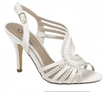 Amazing Silver Bridesmaid Shoes