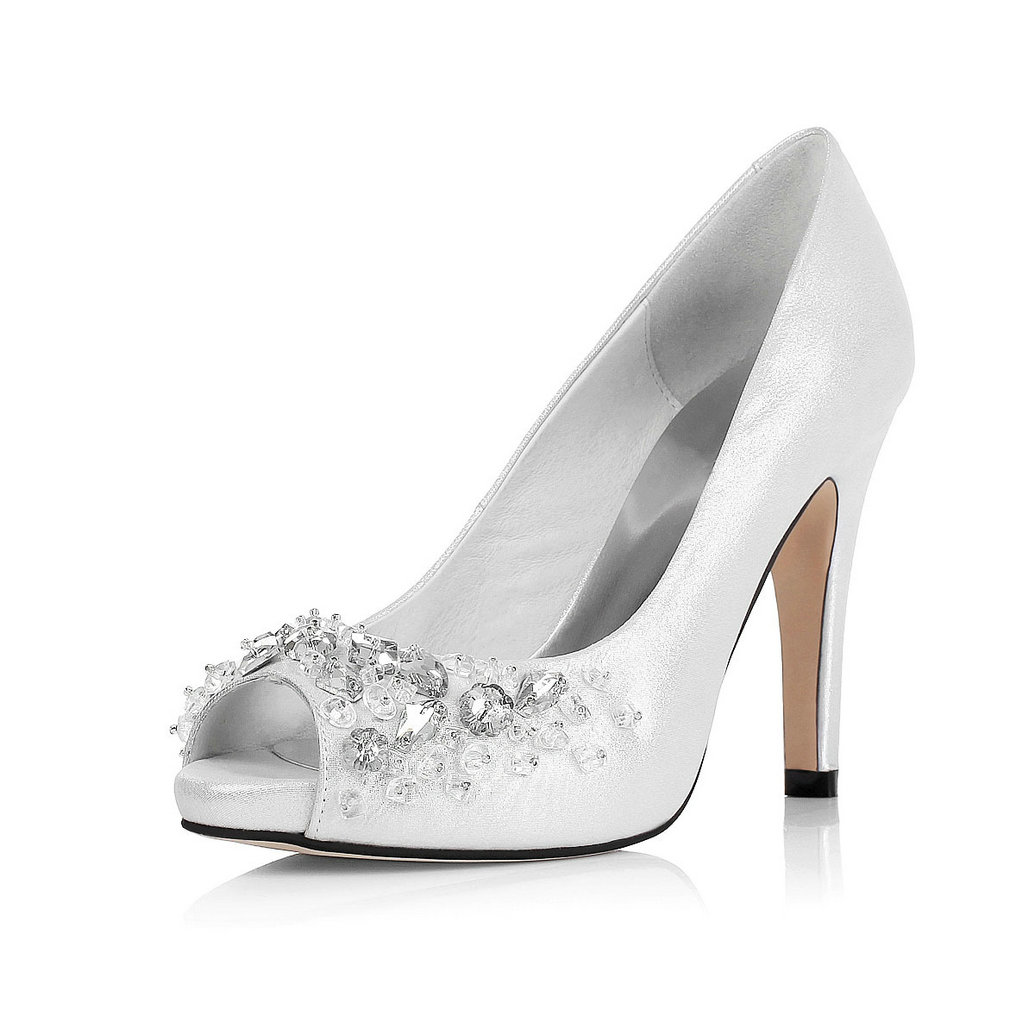 Unique Silver Heels For Prom