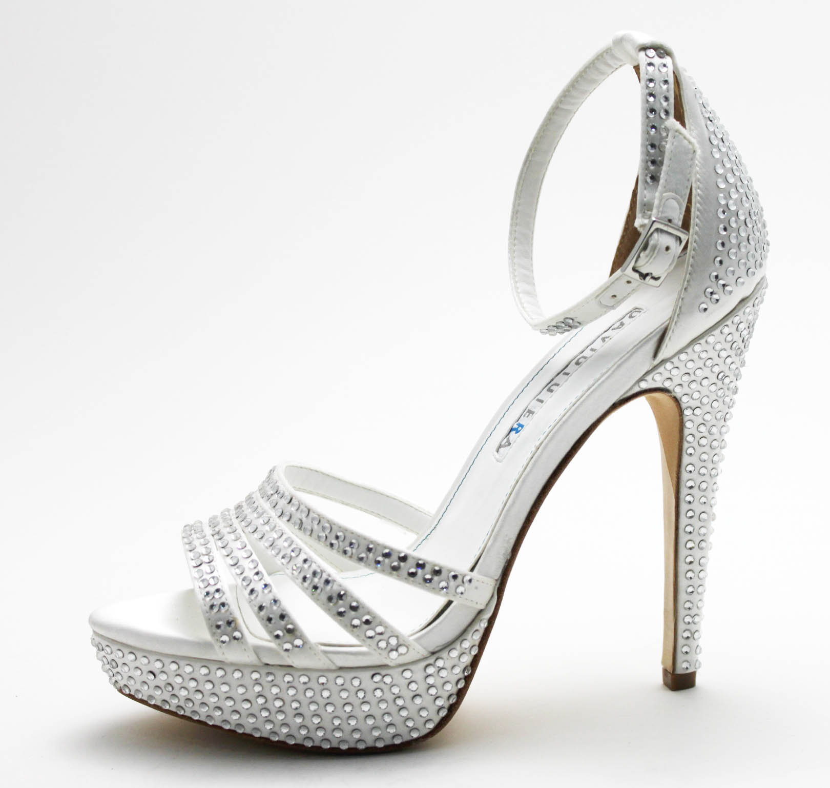 Outstanding Silver Wedding Shoes