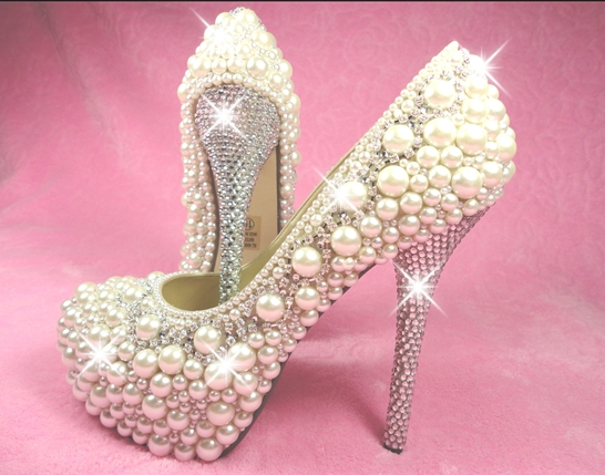 Marvelous Unique Wedding Shoes