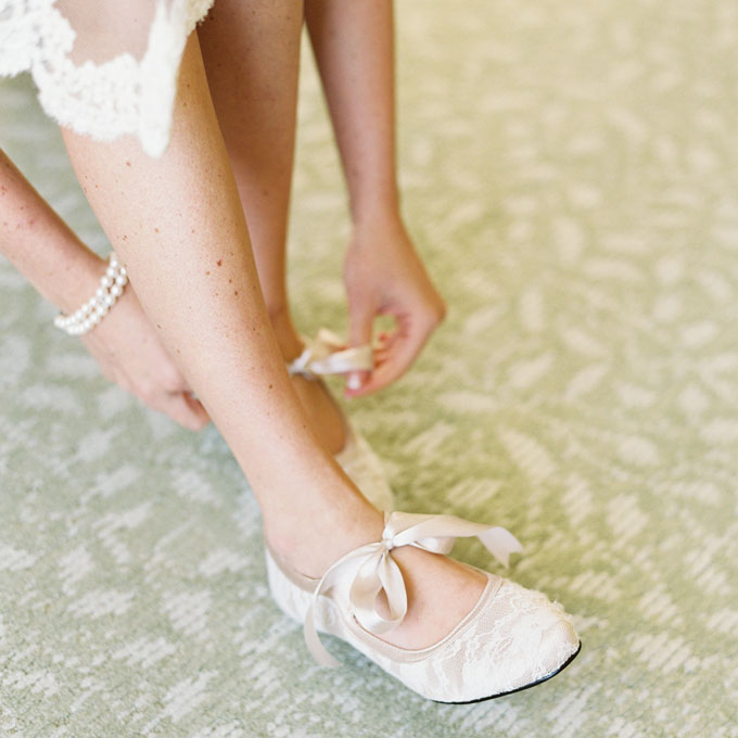 Cute Wedding Slippers