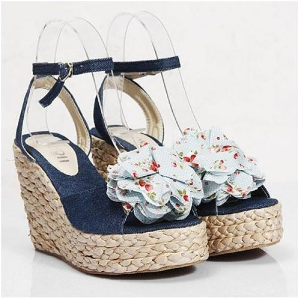 Flowery Women High Heel