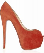 Peach Women High Heels Shoes