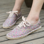 Flowery Casual Shoes For Women