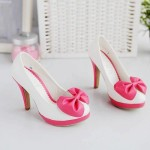 White Pink Cute Shoes