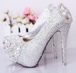 Glittering Heel Shoes