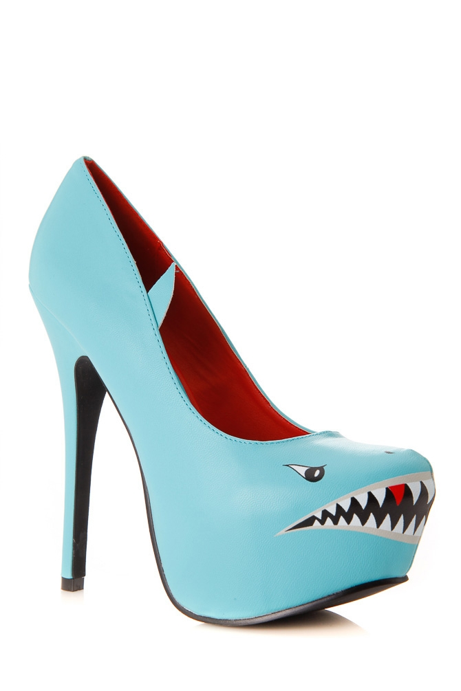 Shark Heels Shoes
