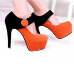 Bright High Heel Pumps