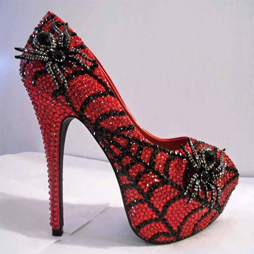 Halloween High Heels Shoes