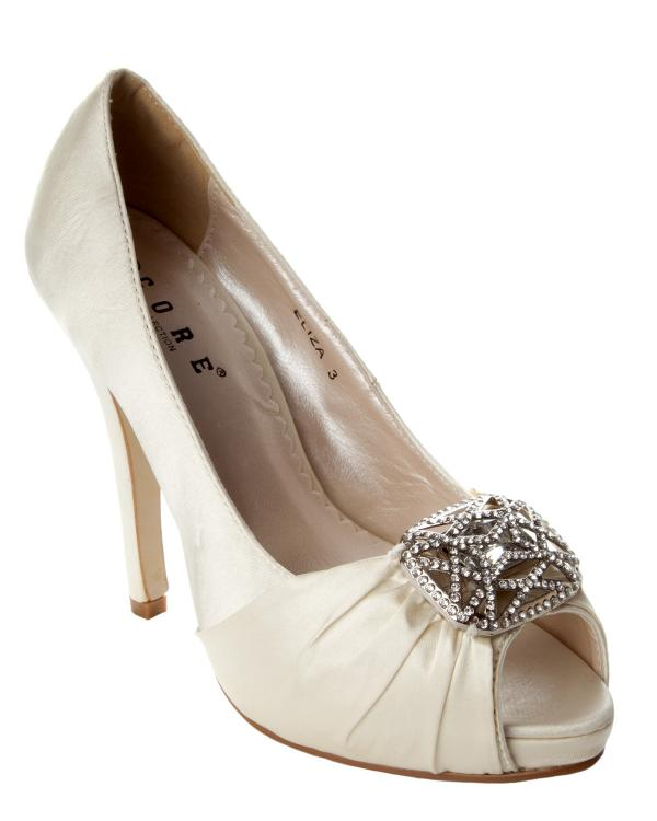 Ivory Ladies Wedding Shoes