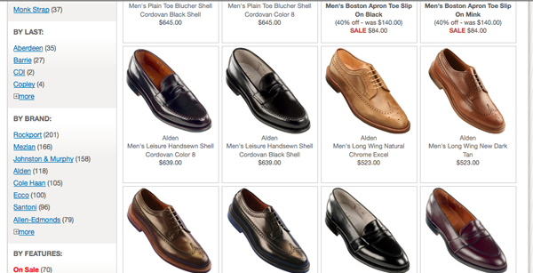 Men Online Shoe Stores