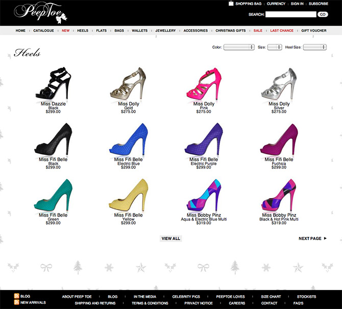 PeepToe Online Shoes Store