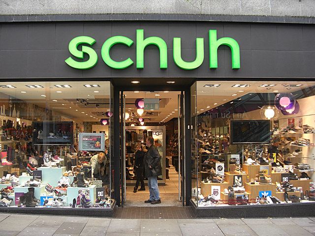 Shoe Shops With  Names