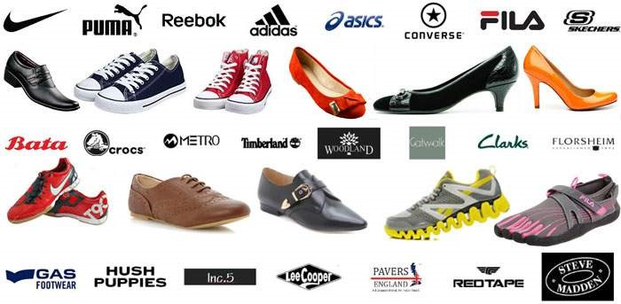 Top Shoes Brands