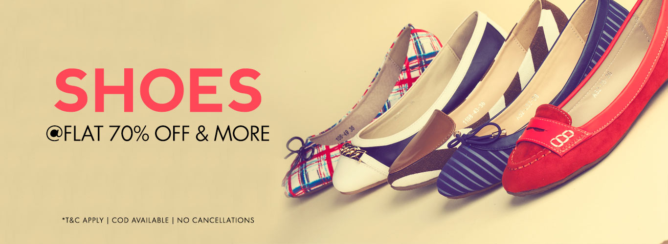Flat Shoes Sale