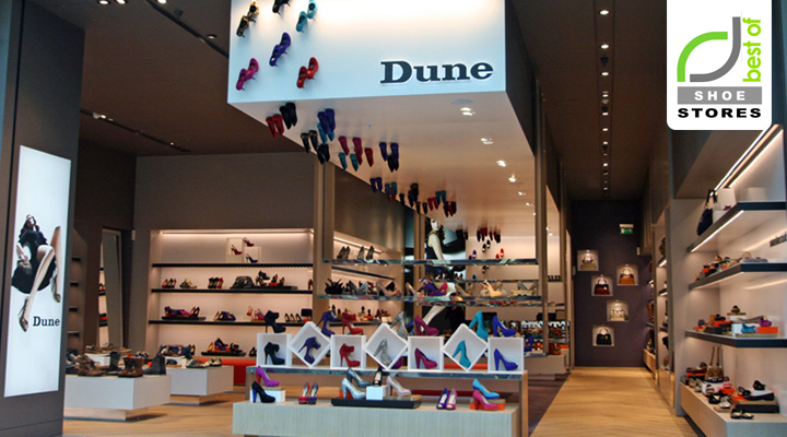 Dune Shoes Stores