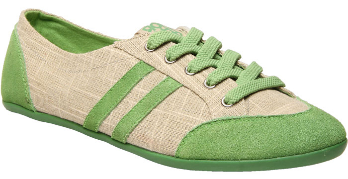 Green Womens Casual Shoes
