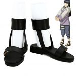 NARUTO Anime Hyuga Hinata Cosplay Shoes Boots Custom Made Nine-Tails Chakra Mode