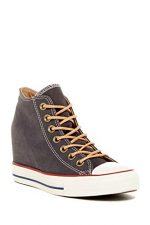 Converse Women's Chuck Taylor All Star Lux Almost Black (07.0)