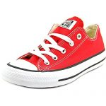 Converse Unisex Chuck Taylor All Star Ox Low Top Red Sneakers – 5 B(M) US Women / 3 D(M) US Men