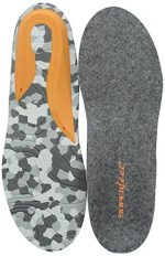 Superfeet Hunt Warmth & Comfort Premium Hunting Insoles, Felt Grey, Medium/D: 7.5-9 US Mens C/D US