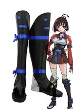 Kabaneri of the Iron Fortress Mumei Cosplay Shoes Boots Custom Made 1