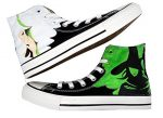 Wicked the Musical Broadway Womens Fashion Sneakers Personalized High-top Canvas Shoes (US 9.5/EUR 44/270MM)