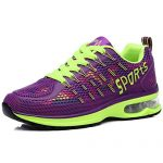 Womens Mesh Air Max Sports Shoes Tennis Jogging Walking Fashion Sneakers Shoes Running Shoes (8.5 B(M) US, Purple)
