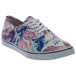 Vans Women Authentic Lo Pro (Tropical) MULTI/TRUE WHITE (7 B(M) US)