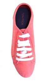 Nautica Women's Lanyard Fashion Sneaker (8.5)